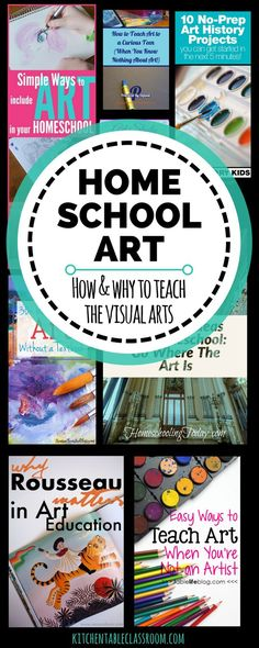 "Homeschool mamas have a lot of things on their ""to teach"" list.It's easy to let the extras like home school art slide because they seem less than necessary."