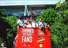 Arsenal parade