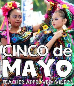 A listing of teacher approved Cinco de Mayo videos for kids! Learn about the holiday & Mexico's culture in these fun videos perfect for little learners. Spanish Teacher, Spanish Classroom, Teaching Spanish, Classroom Ideas, Classroom Resources, Mexico For Kids, Spanish Lessons For Kids, Learn Spanish, Speak Spanish