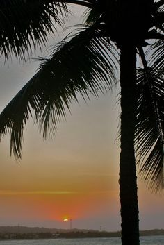 Sunset in Cabarete, Dominican Republic. For more, visit GreenGlobalTravel.com!
