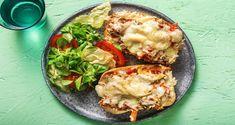 . Falafels, Bruschetta, Avocado, Ciabatta, Tzatziki, Cookbook Recipes, Paella, Quiche, Healthy Recipes
