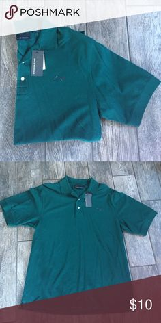 NWT Forrest green men's polo Please check my other listings and let's make a deal! greg norman  Shirts Polos