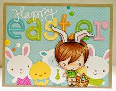 A thousand sheets of paper: Happy Easter...