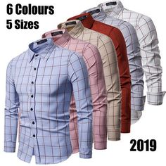 Style: Long Sleeve Button-down Shirt. Color: As picture show. What You Get Quality is the first with best service.