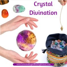 A crystal pendulum is a tool that is held between your thumb and index finger and consists of any sacred object such as a crystal, a key, or a ring, which..