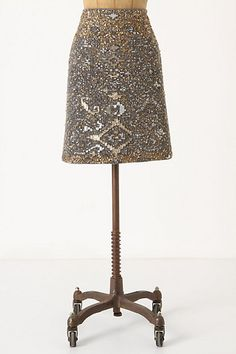 sequined Anthro skirt
