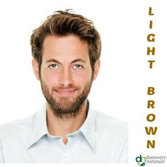 Manly Guy Light Brown | Shop Men's Henna Hair Color at HennaKing.com