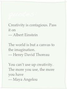 Creativity quotes8 Magic Monday: Creativity Quotes