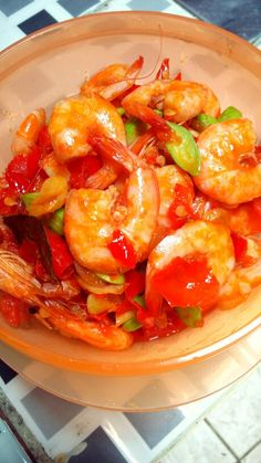 Udang pete balado #indonesianfood