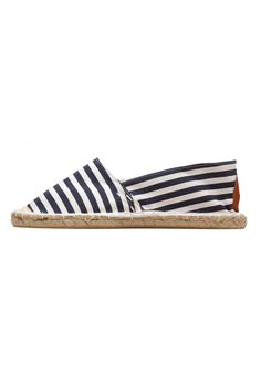 white and navy stripe espadrilles! comfy and perfect!!