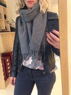 Lanvin scarf - hennyandmy.com