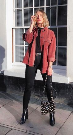 faafda66202d234463057972460c04f5desc36287475ri Winter Fashion Outfits, Look Fashion, Spring Outfits, Looks Street Style, Looks Style, Cute Casual Outfits, Stylish Outfits, Mode Ootd, Mode Kpop