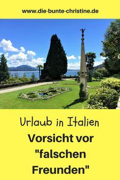 """Urlaub in Italien: Vorsicht vor """"falschen Freunden"""""""