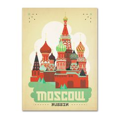Anderson Design Group 'Moscow, Russia' Art