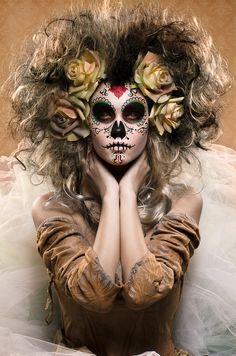 Photograph Sugar Skull - Día de los Muertos by Enrico Panina on 500px