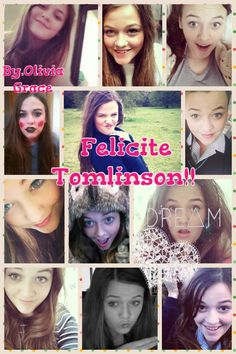 @Felicite Robichaux Robichaux Tomlinson I made this for you!! I hope you like it! Please tag @Felicite Robichaux Robichaux Tomlinson below! If you repin please do not take credit!!(: -Olivia