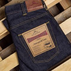 1958 Roamer Pant 23oz made from Japanese Selvage Denim.