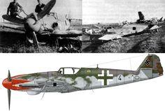 Bf 109 K-4 (W.Nr.332529)JG52, предположительно последняя машина Германа Графа Чехословакия, май 1945г.
