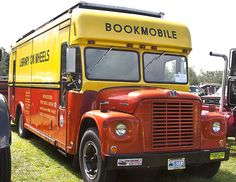"Former ""Library on Wheels,"" New Bedford (Mass.) Free Public Library."
