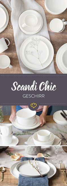 Ganz egal ob Frühstück, Mittag- oder Abendessen, das Geschirr-Set Svea von Springlane Kitchen begleitet dich stilvoll durch den Tag. Das zeitlose Set besticht durch klare Formen in schlichtem Weiß.