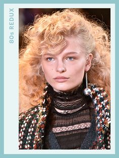 Fall 2016 Hair trends: '80S REDUXEighties styles reigned supreme—well, minus the feathered mall bangs and Aqua Net crunch. Hairstylists reimagined curls, quiffs, and hair flips by skipping hairspray and going easy on the volume to keep looks soft, touchable, and not the least bit flammable.
