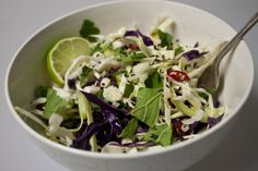 Cleansing (& Delicious!) Cabbage Salad