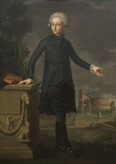 Museu de Mallorca    Francesc Agustí i Grande (1754-1801) – Retrato de Joan Despuig i Safortesa (1776-1853)