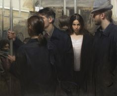 """Nick Alm's """"Urbanized"""" at Arcadia Contemporary.Opening on..."""