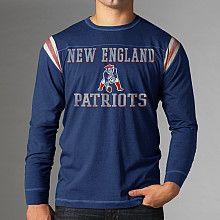 Mens 47 Brand New England Patriots Heisman Long Sleeve T-Shirt