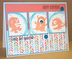 Nancy's CRAFTY blog: A Monster Birthday