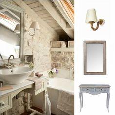 Αν το σπίτι σας λοιπόν είναι πέτρινο και δεν ξέρετε πως να διακοσμήσετε το μπάνιο σας να μια πολύ όμορφη λύση.