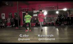 Kenneth San Jose and Gabe de Guzman. Willdabeast Adams. Love this dance.