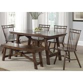 Found it at Wayfair - Creations II Casual 6 Piece Dining Set