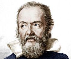 Dit is Galileo Galilei hij leefde van 1564 tot 1642 hij  heeft de telescoop uitgevonden en hij uitte zijn gedachten over een heliocentrise wereld.