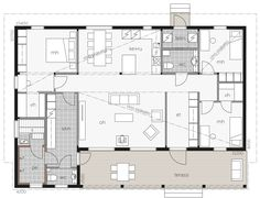 Kontio Laaksolahti is a luxury model, which gracefully combines a modern and luxurious living style with Californian elegance. Little Dream Home, Living Styles, Facade House, Small House Plans, Glass House, Humble Abode, House In The Woods, Log Homes, Luxury Living