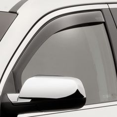 WeatherTech 80520 Series Dark Smoke Front Side Window Deflectors - Side Window Deflectors WeatherTech(R) Side Window Deflectors, offer fresh air enjoyment with an original equipment look, installing within the window channel. They are crafted from the finest 3mm acrylic material available. Installation is quick and easy, with no exterior tape needed. WeatherTech(R) Side Window Deflectors are precision-machined to perfectly fit your vehicle's window channel. These low profile window…