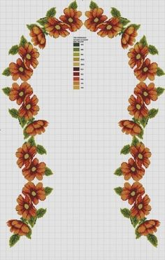 This Pin was discovered by Öze Cross Stitch Rose, Cross Stitch Flowers, Prayer Rug, Cross Stitch Designs, Table Runners, Needlework, Diy Crafts, Embroidery, Rugs