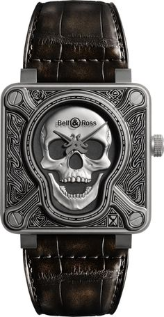 Burning Skull Bell & Ross