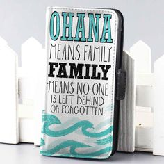 Ohana Means Family Lilo and Stitch Disney wallet case for iphone and samsung galaxy Custom Iphone Cases, Iphone 6 Cases, Cute Phone Cases, Iphone 4, Samsung Cases, Galaxy 4, Samsung Galaxy S3, Ohana Means Family, Lilo And Stitch