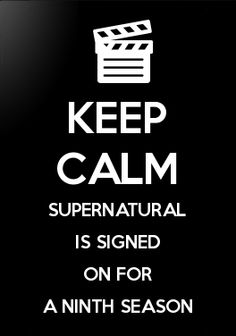 One more year of Supernatural! :)