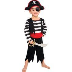 Toddler Boys Rascal Pirate Costume