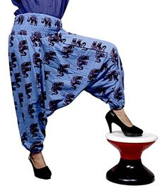 Yoga Pants, Harem Pants, Trousers, Elephant Design, Cotton Pants, Aladdin, Krishna, Fashion Brands, Topshop