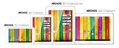 Archos presenta su nueva gama Titanium de tablets Android con precios desde los 119€