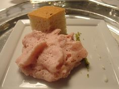 Mortadella mousse and focaccia _ Osteria Francescana
