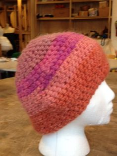 Third Grade Crochet Hat using Plant Dyed Yarn Waldorf School of Garden City
