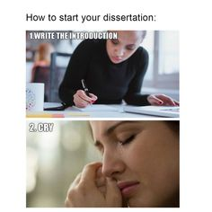 Is your dissertation making you cry?