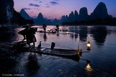 Фотография Fishermen & Cormorants автор Daniel Cheong на 500px