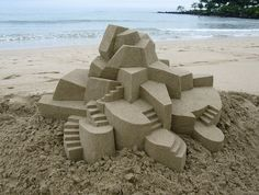 Architectural Sand Castles are Geometric Wonders