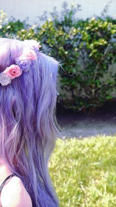 colored hair ♥