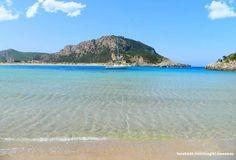Golden beach, Gialova Pylos in Messinia Peloponnese - GREECE